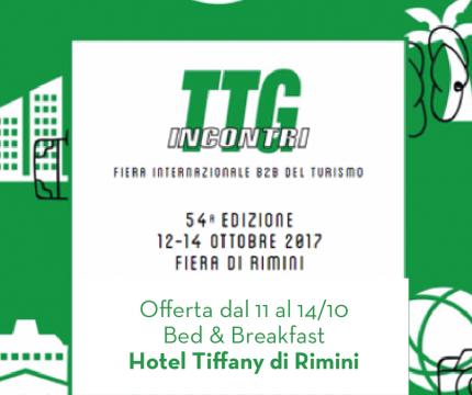 Offerta TTG Rimini 2017 Hotel B&B