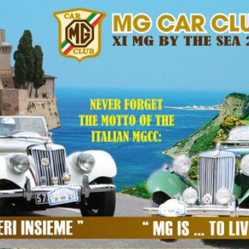 Speciale Undicesima edizione MG BY THE SEA 2016 a Gabicce