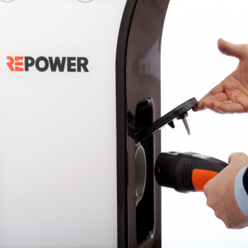 RePower, ricarica auto elettrica + SPA