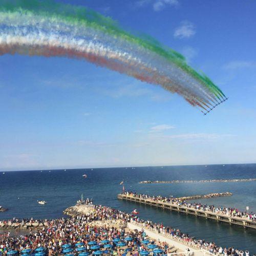 Ponte della Repubblica 2017 e Frecce Tricolori