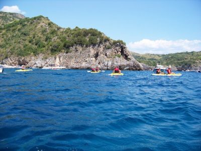 Canoeing and Cilento