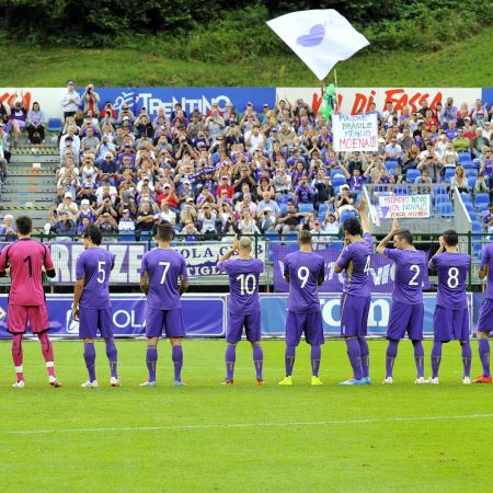 Ritiro Fiorentina Calcio 2016