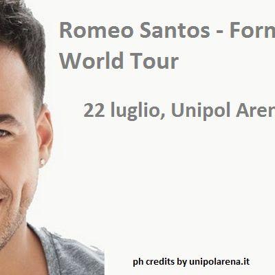 Offerta concerto Romeo Santos Bologna