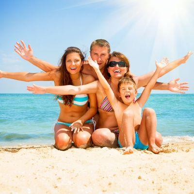 Offer June for families in Rimini