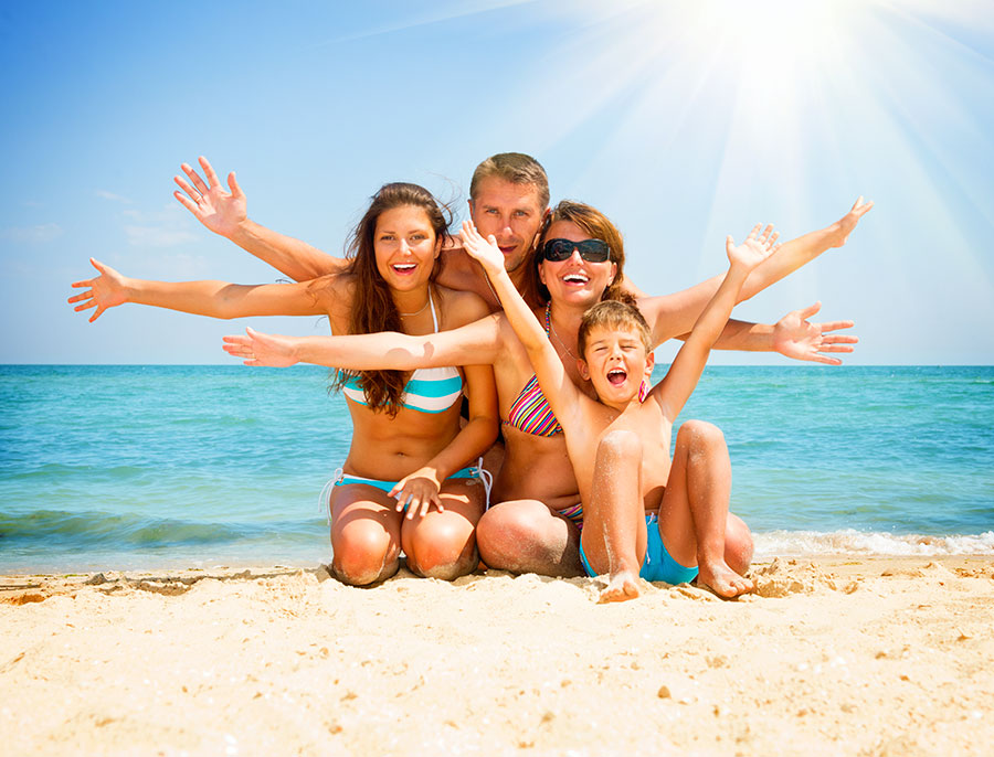 Offer June for families in Rimini