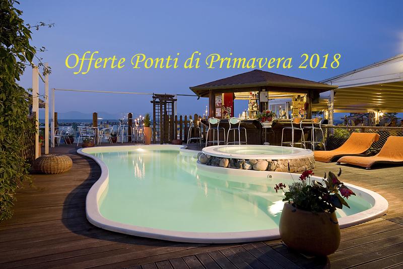 Feste di PRIMAVERA 2018 hotel con PISCINA sul mare