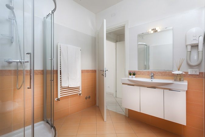 attico residence piccadilly bagno