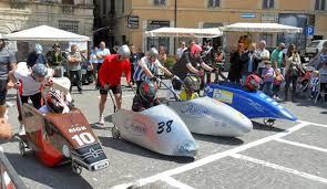 Corsa dei vaporetti a Spoleto