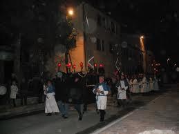 Processione cristo morto Colfiorito