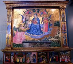 Madonna della Cintola a Montefalco Benozzo Gozzoli