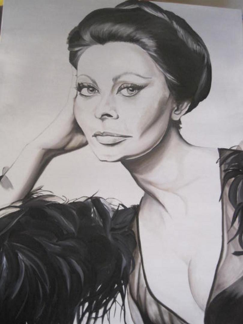 Mostra pittrice Gabrielli Federica Umbria