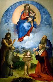 Madonna di Foligno di Raffello