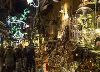 Napoli mercatini di Natale 2016