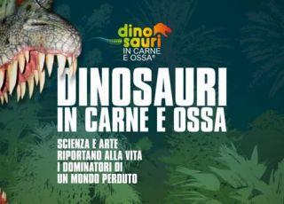 Dinosauri in carne e ossa 2017-  riserva degli Astroni a Napoli