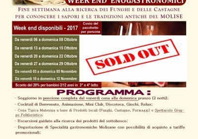 Week end Enogastronomici Autunno 2017