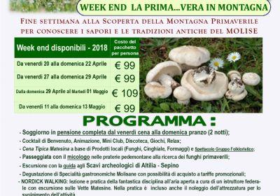Week End La Prima...vera in Montagna