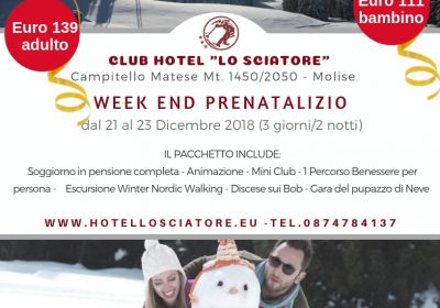 Week end Prenatalizio