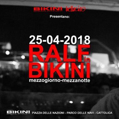Ralf in Bikini 2018 Cattolica