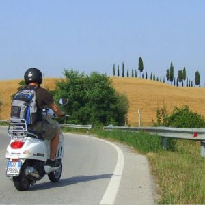 Tour in Vespa in Toscana