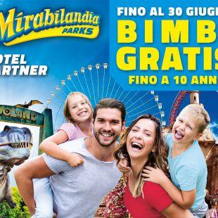Pacchetto hotel vicino al parco Mirabilandia  l'offerta bimbi gratis a MIRABILANDIA