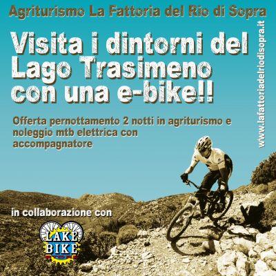 Pacchetto SPORT - Visita i dintorni del Lago Trasimeno con mountain bike elettrica!