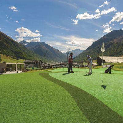 Golf in montagna.. . Golf a Livigno
