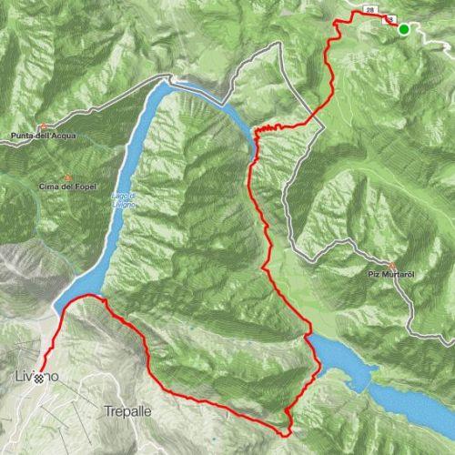 Trekking o Hiking  a Livigno