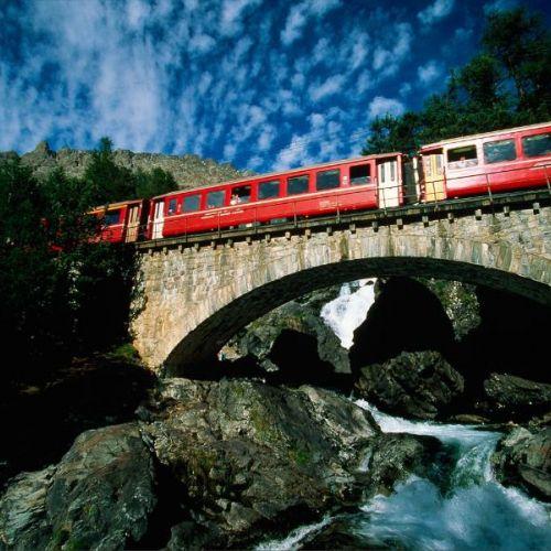 Gita con il trenino rosso del Bernina