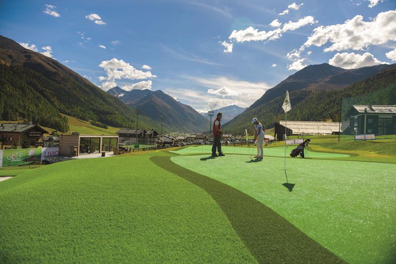 Golf in montagna a Livigno