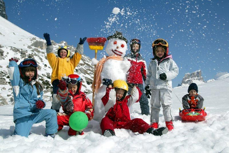 Neve formato famiglia!
