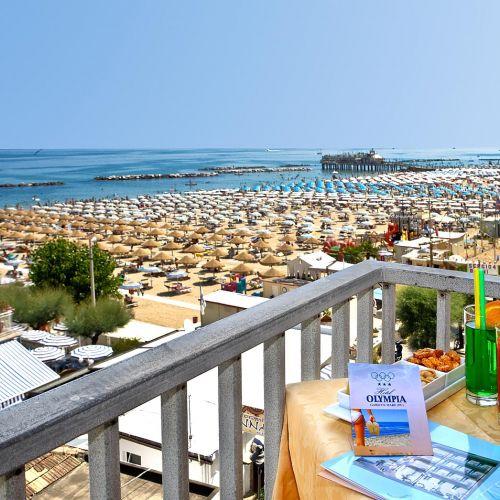 Hotel sul mare nelle Marche