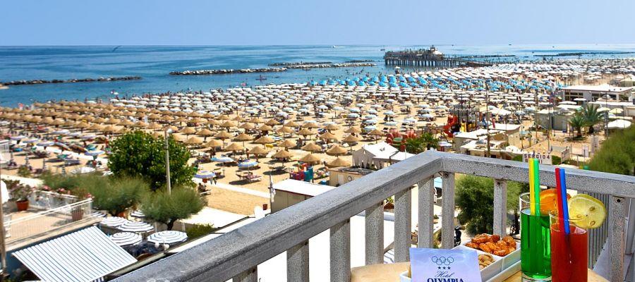 Seaside hotels in Marche