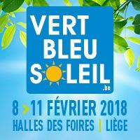 Salon des Vacances et du Tourisme  Vert Bleu Soleil - Liege  8-11/02/2018