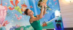 Kinder Esploroom die einzige Zimmer des Meeres