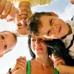 Bieten Familienurlaub Romagna