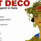 Show Art Deco '. The tumultuous years in Italy 11 February to 18 June 2017