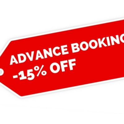 Special Offer Advance Booking!  Book now and pay upon the check-out!