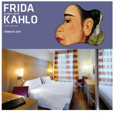 Hotel Canada Milano- Offerta mostra Frida Kahlo Mudec
