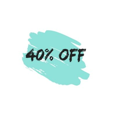 GENNAIO FLASH DEAL OFFERTA 40% OFF!