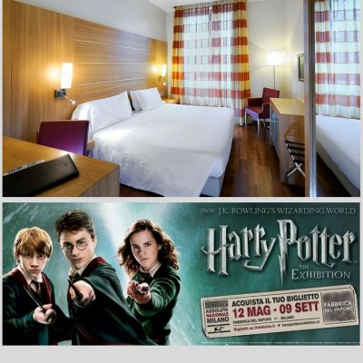OFFERTA HOTEL VICINO FIERA HARRY POTTER 2018