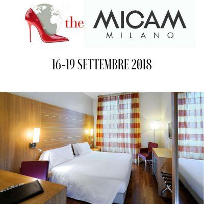 Offerta Hotel vicino The Micam  settembre  Milano 2018
