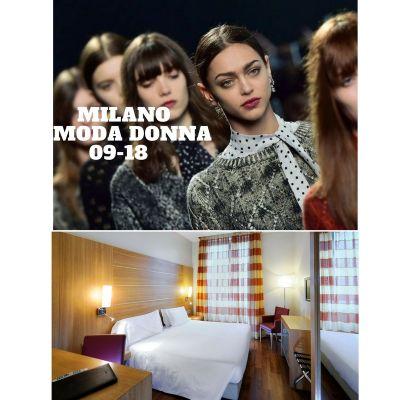 Offerta Hotel MILANO MODA DONNA Settembre 2018