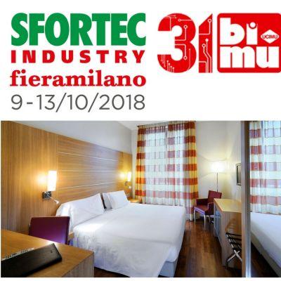 OFFERTA HOTEL MILANO VICINO A SFORTEC/BIMU OTTOBRE 2018