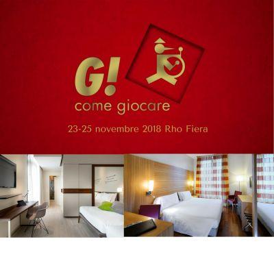 Offerta Hotel G come Giocare Rho Fiera Milano