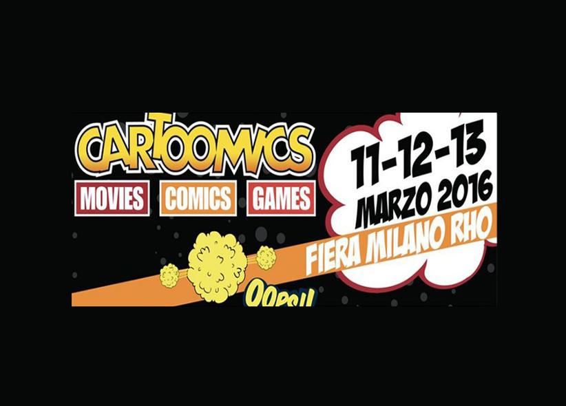 Offerta Cartoomics Milano 2016!