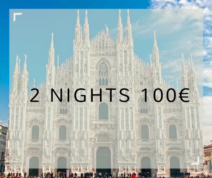 2x1 Due notti 100€