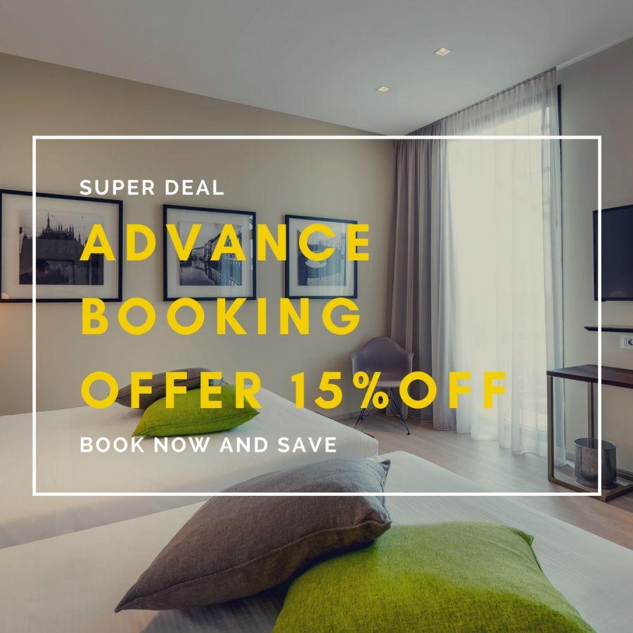 Offerta Advance Booking! Prenota Ora e paga al check-out!