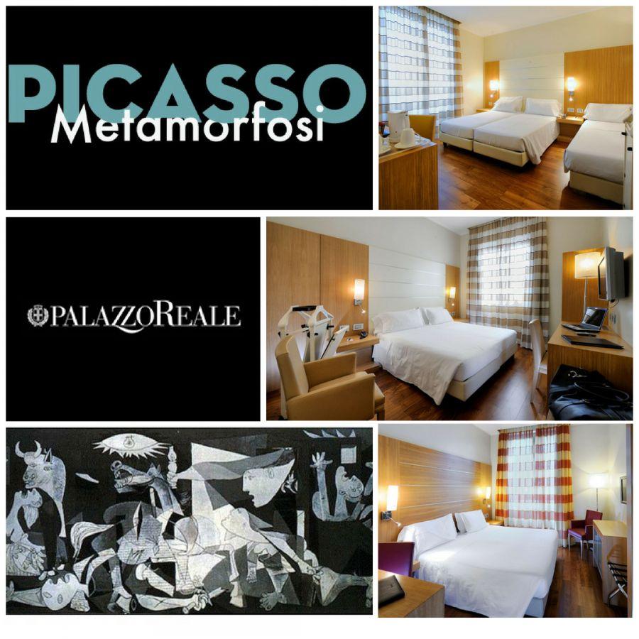 HOTEL CANADA MILANO - OFFERTA MOSTRA PICASSO - METAMORFOSI