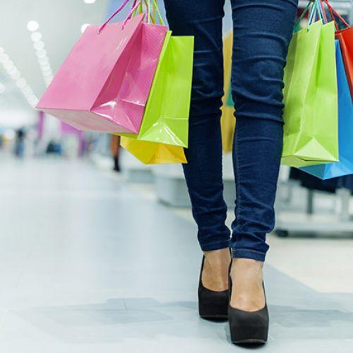 Pacchetto shopping a Milano