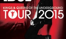 Billy Idol Kings & Queens Of The Underground Tour 2015 at Lucca Summer Festival - Hotel Montecatini